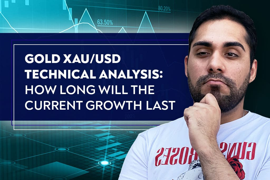 Gold XAU/USD Technical Analysis: How Long Will the Current Growth Last