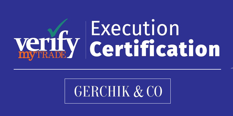 Gerchik & Co: премия Verify My Trade
