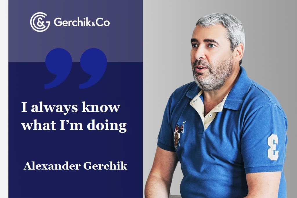 Interview with Alexander Gerchik. On figures and beating records
