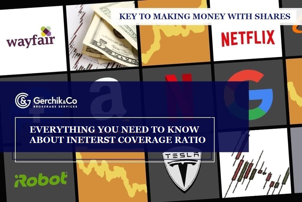 Key to making money with shares. Lesson 23. Interest Coverage Ratio. Netflix, Inc.