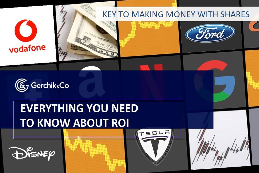 Key to making money with shares. Lesson 11. Return on investment (ROI)