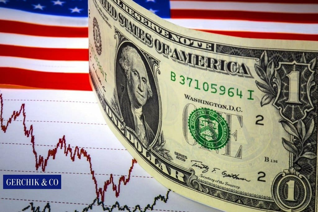What does dollar index depend on