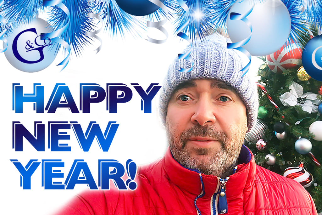 New Year wishes from Gerchik & Co and Alex Gerchik