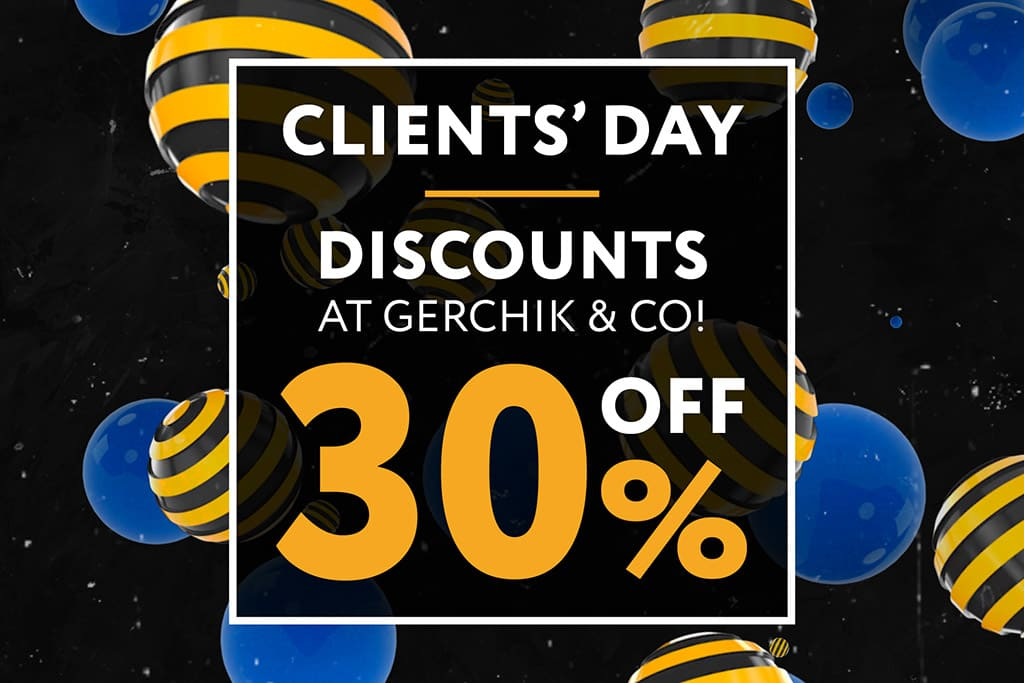 Clients' Day at Gerchik & Co! 30% off + Trader's Daily Achievement Tracker