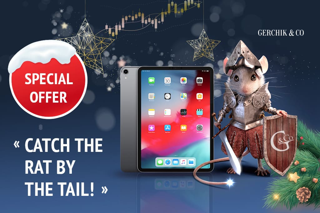 «Catch the Rat by the Tail» Holiday Special: Win Apple iPad Pro 11