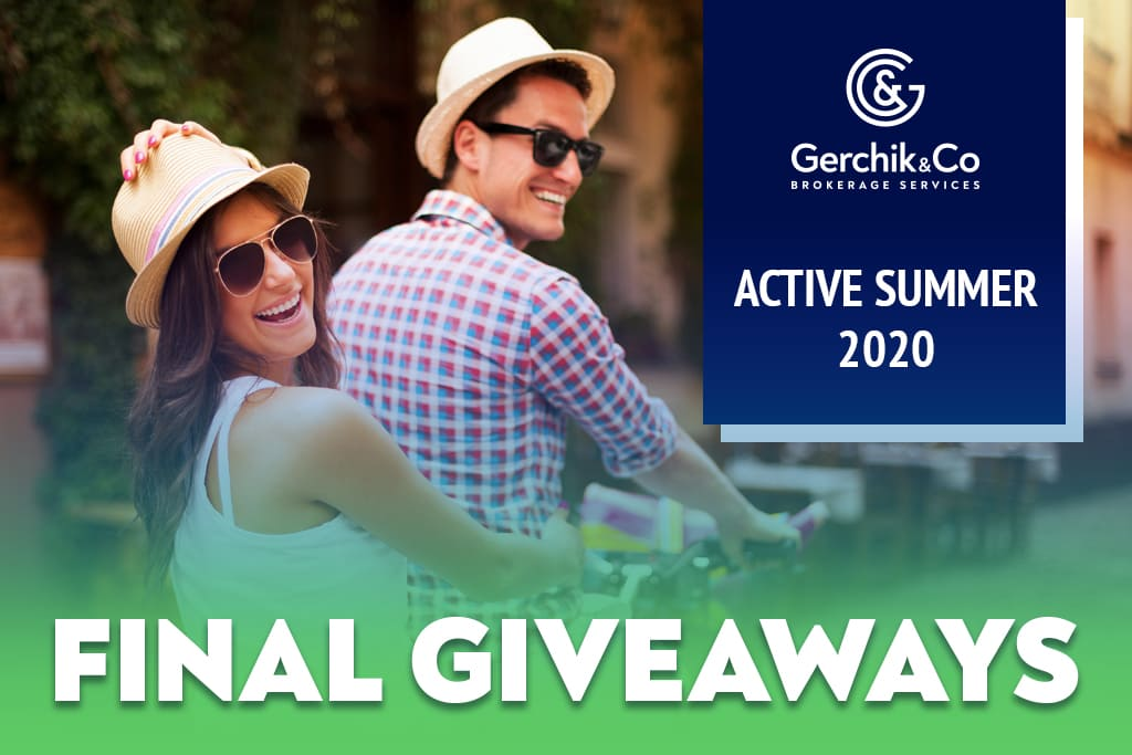 Active Summer 2020 Special Is Over. Congratulations to Our Winners!