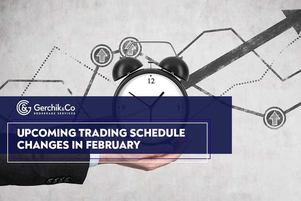 Breaking news: upcoming trading schedule changes in February
