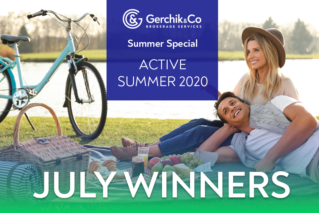 Active Summer 2020: July Winners Already Announced