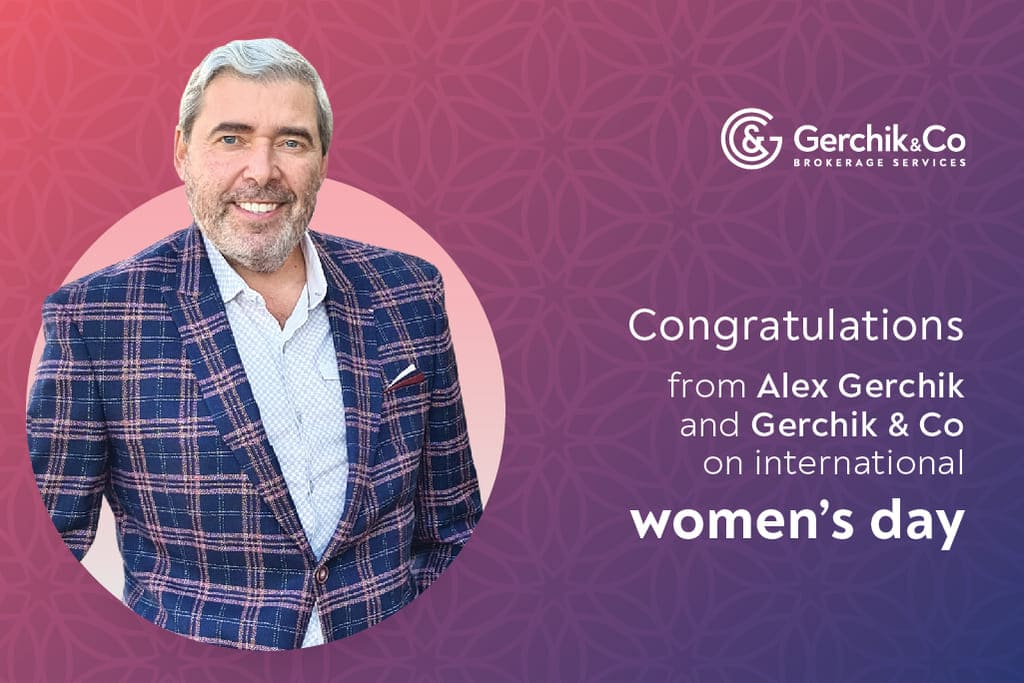Happy international women's day from Alex Gerchik and Gerchik & Co