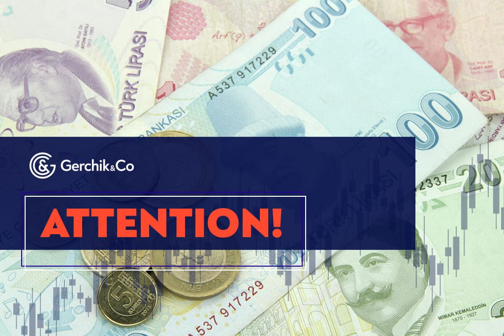 Margin Requirements for Currency Pairs with TRY to be Changed